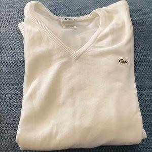 Lacoste long sleeve sweater